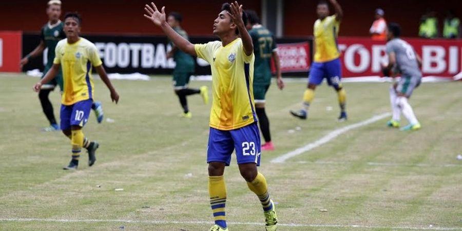 Penyerang Muda Gresik United Enggan Ikuti Jejak Kiper Timnas U-22