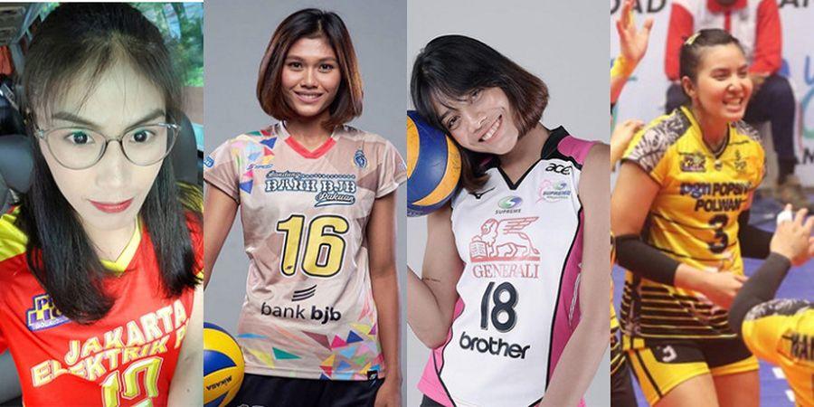 Pesona 4 Atlet Bola Voli Thailand pada Proliga 2019