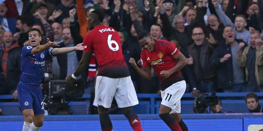 Hasil Liga Inggris - Ditahan Manchester United, Chelsea ke Puncak Klasemen