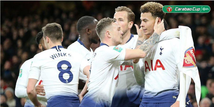 Hasil Piala Liga Inggris - Permalukan Arsenal, Tottenham Hotspur Melaju ke Semifinal