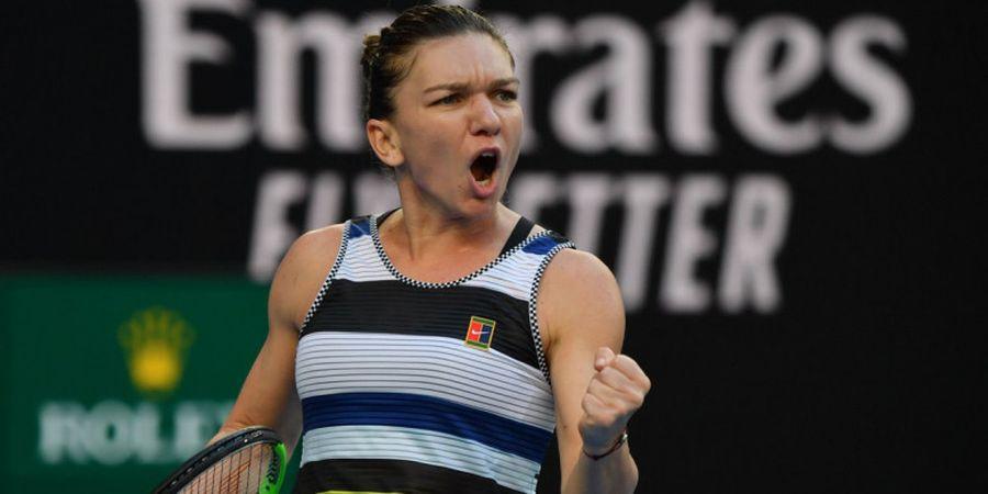 Australian Open 2019 - Simona Halep Sukses Gagalkan Pertemuan Williams Bersaudari di Babak 16 Besar