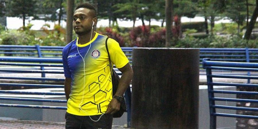 Tak Lagi Canggung, David Laly Sudah Nyetel dengan Madura United