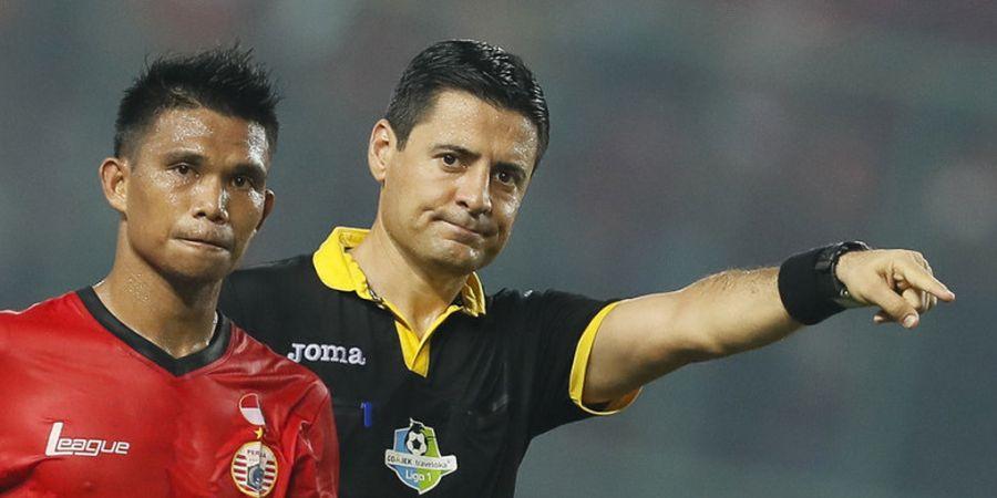 Laga Malaysia Kontra Timnas Indonesia Dipimpin Wasit Liga 1 2017