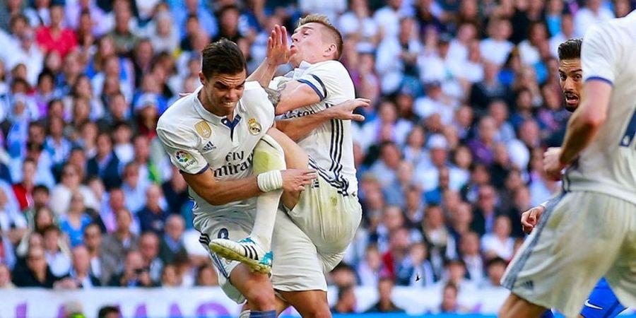 Gawat, Real Madrid Krisis Bek Tengah