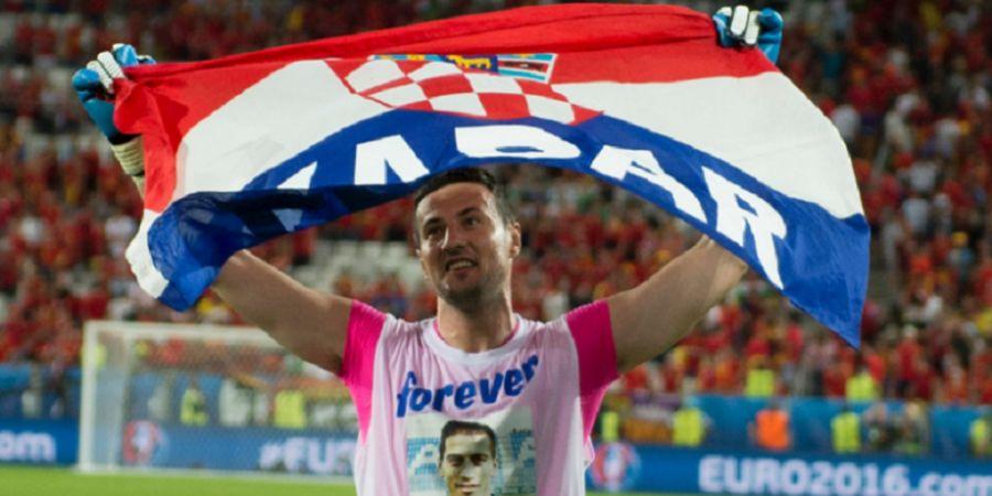 Penantian Panjang Danijel Subasic guna Menjadi Kiper Utama Kroasia