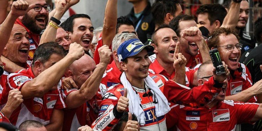 Lorenzo Tidak Bisa Janjikan Gelar Juara Dunia MotoGP kepada Ducati