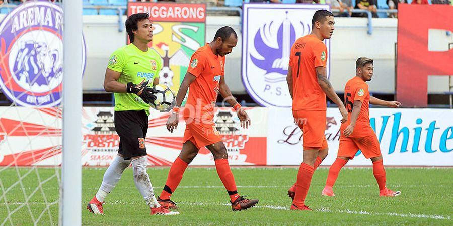 Persebaya Sudah Jadi Korban, Permainan Brutal Borneo FC Hampir Matikan Karier Dua Pemain PSM