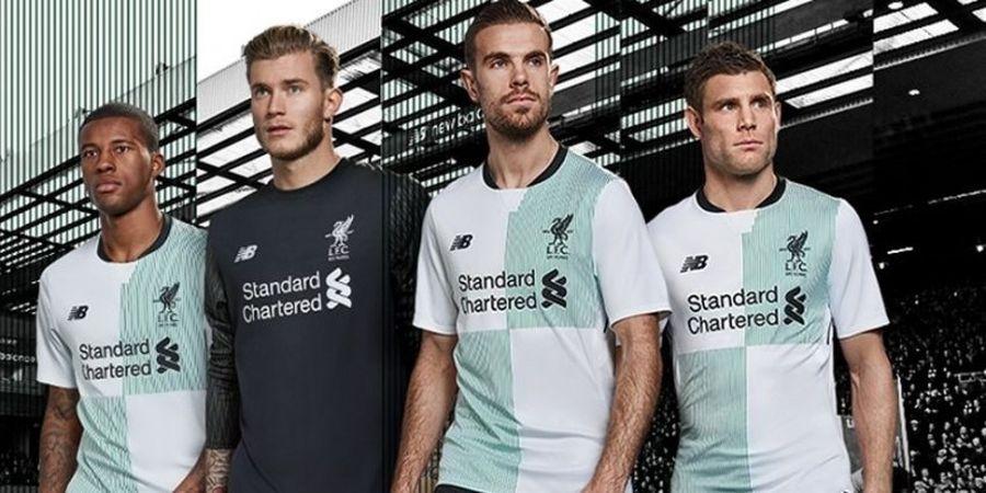 Peringati Ulang Tahun ke-125, Kostum Liverpool Musim Depan Bergaya Retro
