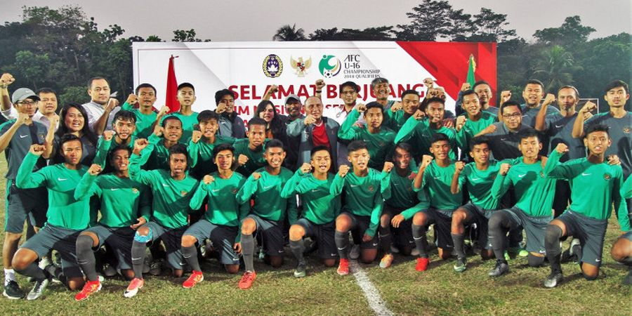 Indonesia Vs Kepulauan Mariana Utara - Starting Line-up Indonesia U-16