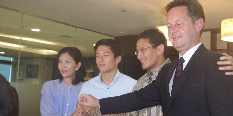 Sandiaga Uno: Kita Harus Dukung Rio Haryanto ke F1