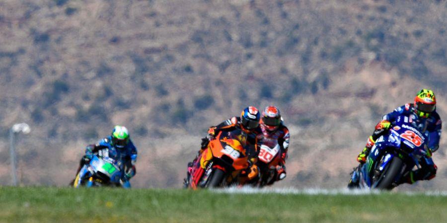 Punya Peluang Salip Posisi Valentino Rossi di Klasemen MotoGP, Ini Komentar Vinales