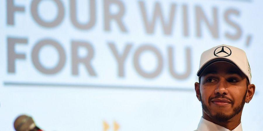 Lewis Hamilton Promosikan Pentingnya Latihan bersama Pesepak Bola Arsenal