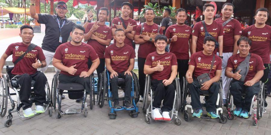 Asian Para Games 2018 - Debut Pertama, Tim Basket Kursi Roda Indonesia Tak Pasang Target Tinggi