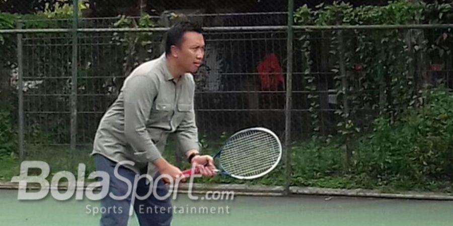 Menpora Kalah Main Tenis Saat Hadapi Mantan Paspampres