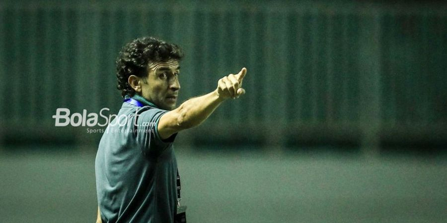 Luis Milla Ingin Pelatih Persija Bawa Gaya Main Sepak Bola Spanyol