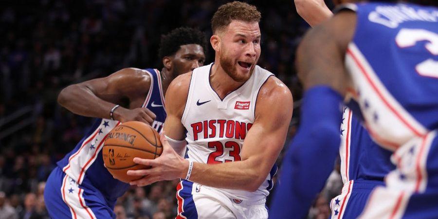 Blake Griffin Kemungkinan Kembali Absen Bela Pistons Kontra Bucks