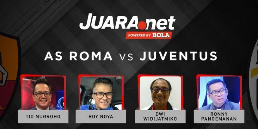 Ini Dia Prediksi Skor AS Roma Vs Juventus