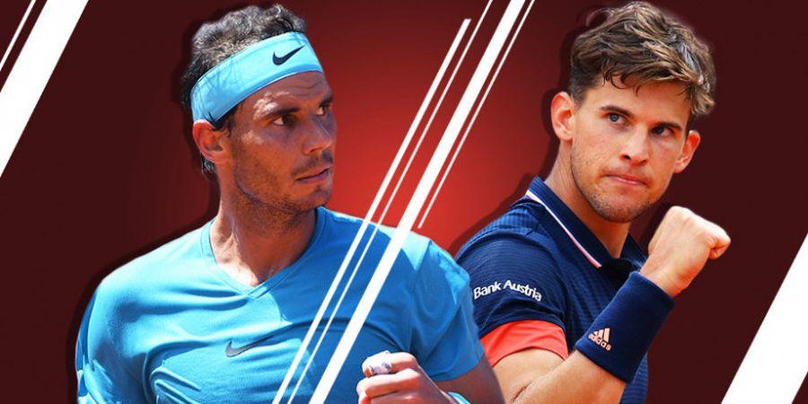 Final Roland Garros 2018 - Tekad Rafael Nadal Meraih La Undecima Mendapat Tantangan dari Dominic Thiem