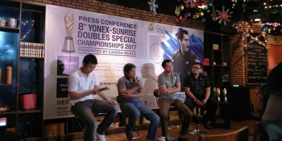 Setelah 1 Tahun Absen, Turnamen Bulu Tangkis Khusus Ganda Persembahan Candra Wijaya Kembali Digelar