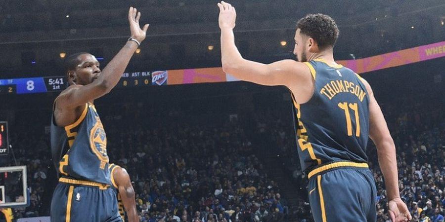Warriors Masih Ingin Pertahankan Klay Thompson dan Kevin Durant
