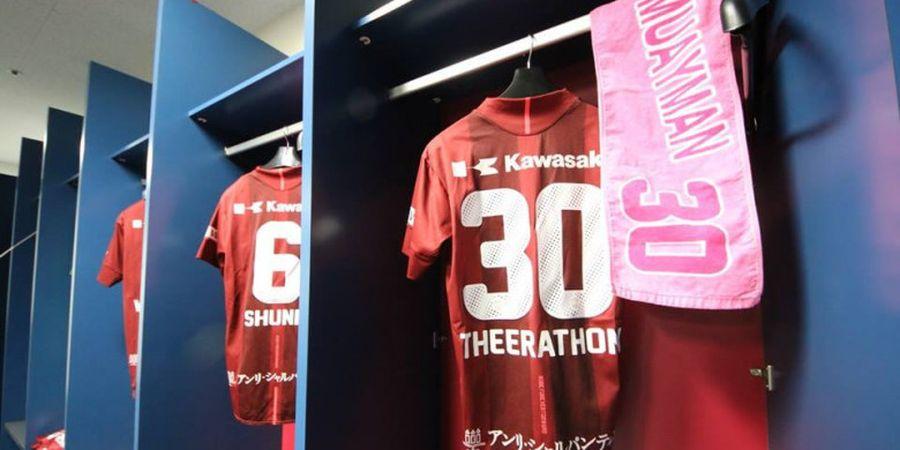 Duo Bintang asal Thailand 'Perang' di Liga Jepang, Teerasil Dangda Rasakan Kenyataan Pahit