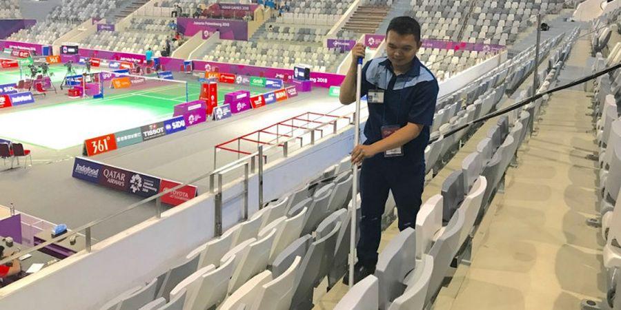 ISS Indonesia Sukses Menjaga Kebersihan Asian Games 2018