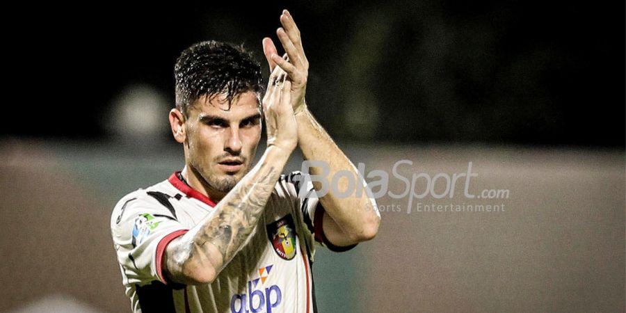 Mantan Striker Sevilla Samai Gol Top Scorer Liga 1 2018 Ezechiel N'Douassel
