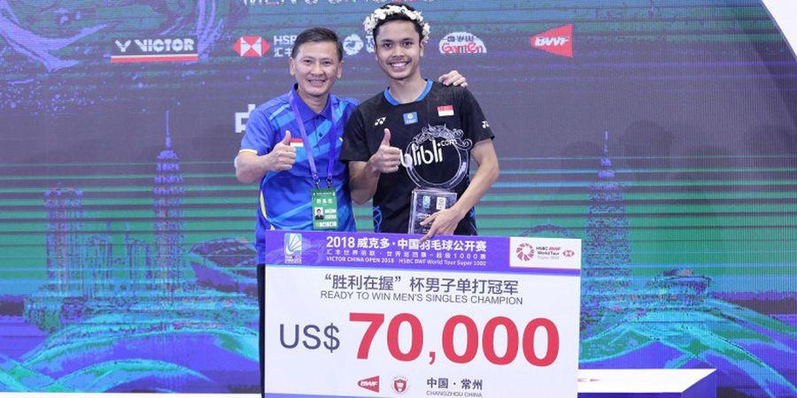 Hendry Saputra: Saya Ingin Anthony Juara BWF World Tour Finals 2018, tetapi...