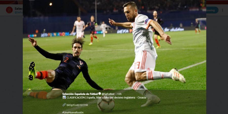 UEFA Nations League - Takluk dari Inggris dan Kroasia, Sergio Busquets: Timnas Spanyol Tetap Terbaik