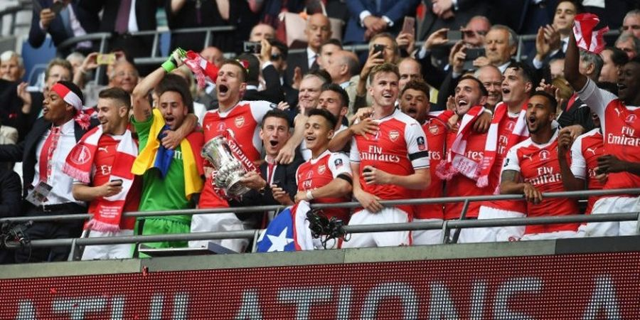 Arsenal Tekuk Chelsea untuk Raih Gelar Ke-13 Piala FA