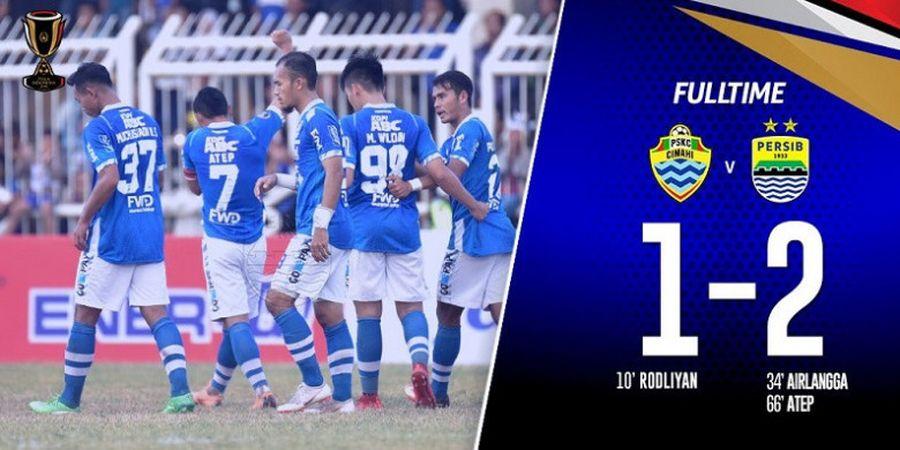 Persib Akhirnya Berhasil Jinakkan PSKC Cimahi di Piala Indonesia 2018