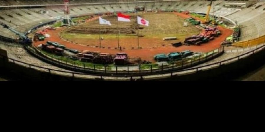 Tanpa SUGBK, Lima Stadion Gelar Cabor Sepak Bola Asian Games 2018
