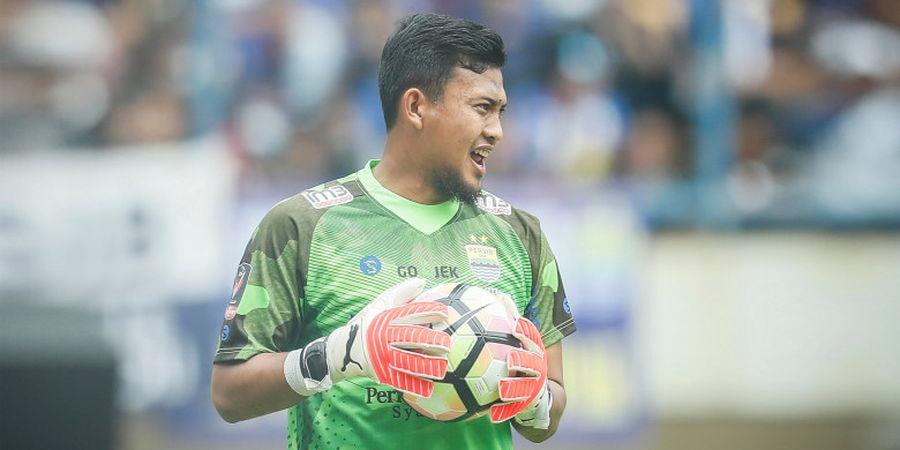 Resep Ketenangan Deden Natshir dalam Menjaga Gawang Persib dari Gempuran Bali United