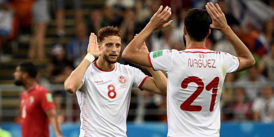 Gol ke-2.500 Piala Dunia Milik Winger Tunisia