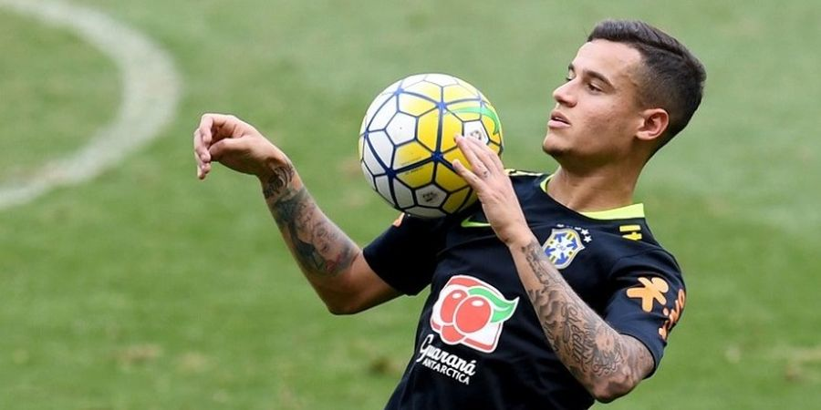 Coutinho Hentikan Dominasi Neymar dalam Perebutan Samba Gold 2016