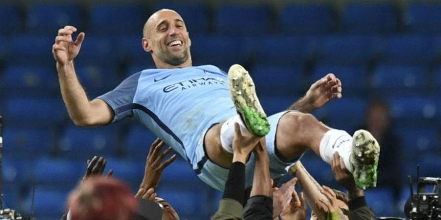 Habis Kontrak di Man City, Zabaleta Langsung Gabung West Ham