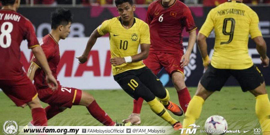 Final Piala AFF 2018 - Kecolongan 2 Gol di Kandang, Nasib Malaysia Masih Menggantung