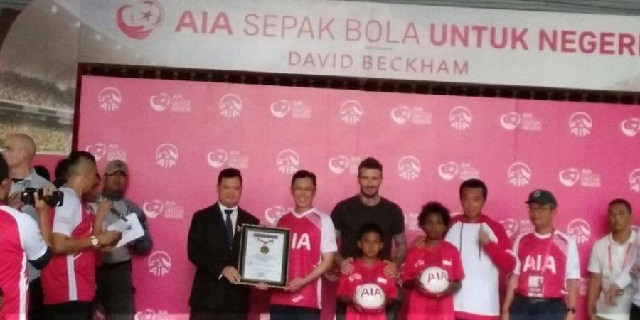 David Beckham Hadir di Jakarta dan Menyapa Indonesia