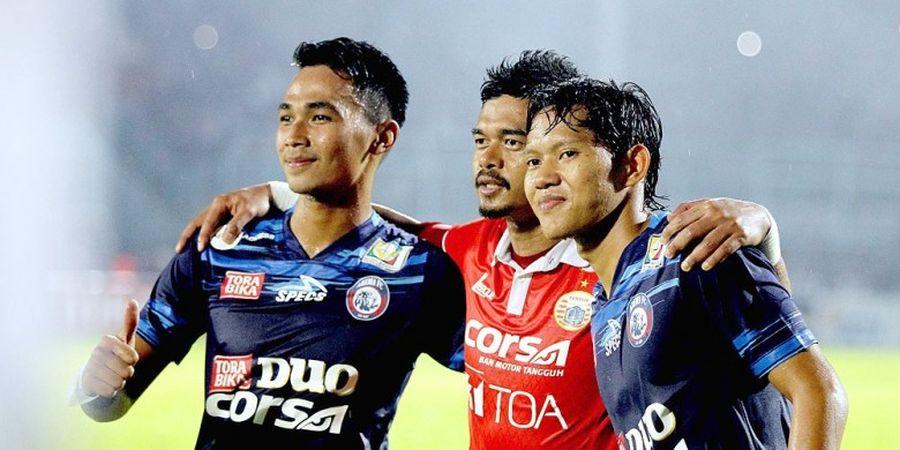 Dua Amunisi Juara Milik Arema Resmi Perkuat Bhayangkara FC Musim 2019