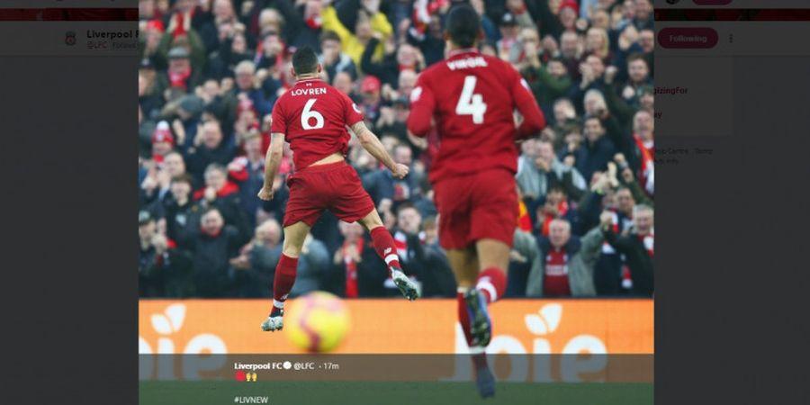 Akibat Cedera, Lovren Tak Ikut Pemusatan Latihan Liverpool di Spanyol