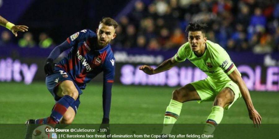 Mirip Real Madrid, Barcelona Terancam Dicoret dari Copa del Rey?