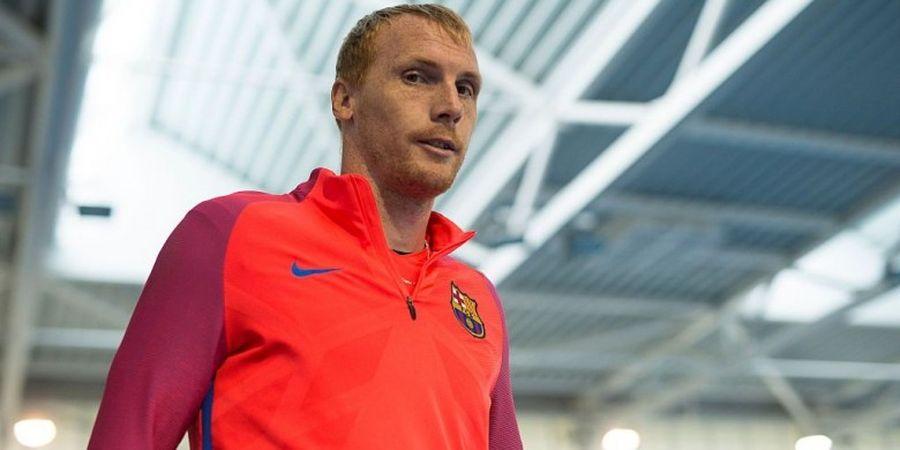 Putus Kontrak dengan Barcelona, Mathieu Berlabuh di Sporting
