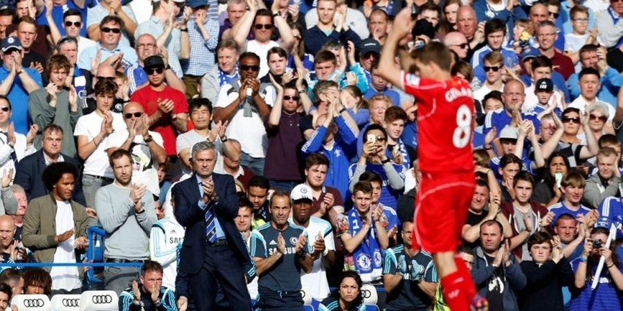 Steven Gerrard Mengaku Jose Mourinho 6 Kali Gagal Merekrutnya