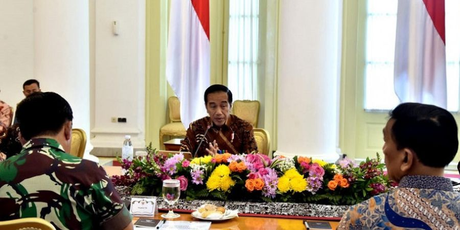 Berikan Bonus Sama, Ini Harapan Presiden Jokowi kepada Atlet Asian Para Games 2018
