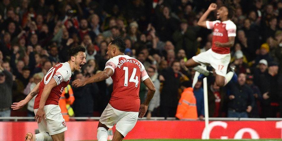 Hasil Liga Inggris - Menggila dalam 4 Menit, Arsenal Raih 10 Kemenangan Beruntun