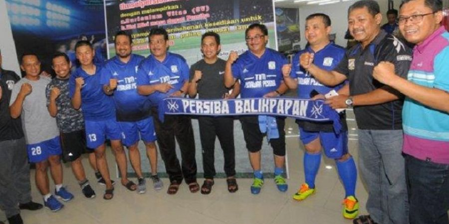 Demi Liga 1, Rahmad Mas'ud Ajak Suporter dan Manajemen Kompak Dukung Persiba Balikpapan