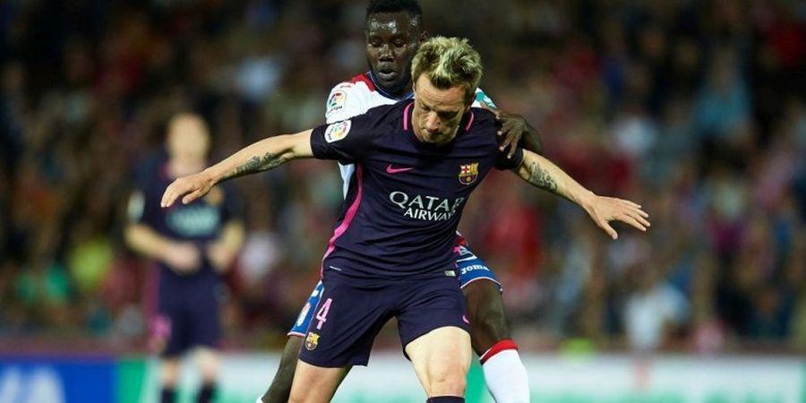 Ivan Rakitic Bicara Soal Peluang Treble Barcelona