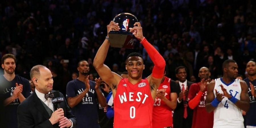 Russell Westbrook Antar Wilayah Barat Juarai NBA All-Star 2016