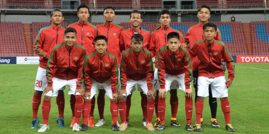 BREAKING NEWS - Susunan Pemain Timnas U-16 Indonesia Vs Thailand, Zico Ujung Tombak