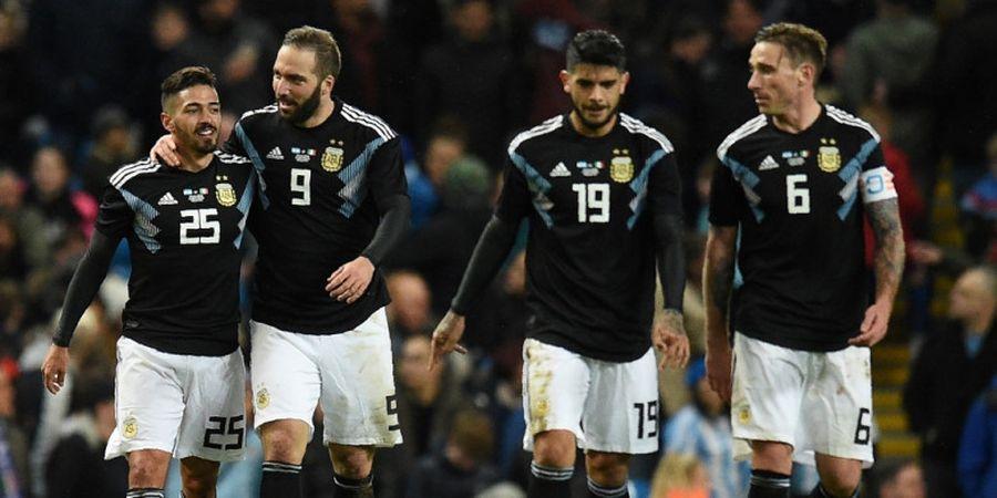 Hasil Argentina Vs Italia - Gianluigi Buffon Jadi Patung, Gli Azzurri Takluk